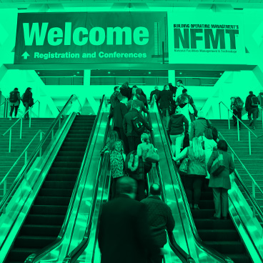 attendees entering NFMT
