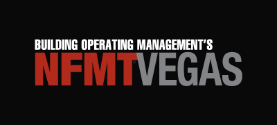 Building Operating Management's NFMT Vegas Logo