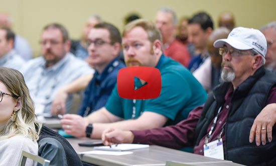 clip of NFMT conference goers